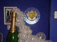 LCFC Champagne Bottle