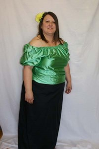 Gypsy Style (Green Blouse)