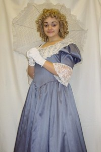 Victorian Lady (Blue)