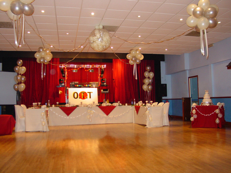 Balloons Decorations For Dance Floors