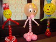 Baby Balloon Sculptures
