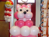 Bagpuss Balloon Sculpture