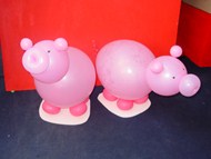 Balloon Pig Sculpture