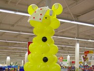 Balloon Pudsey Sculpture