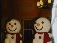 Balloon Snowmen