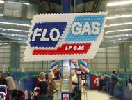 Flo-Gas Balloon Sculpture