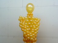 Oscar Award Balloon Sculpture