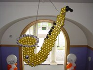 Saxophone Balloon Sculpture