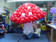 Toadstool Balloon Sculpture
