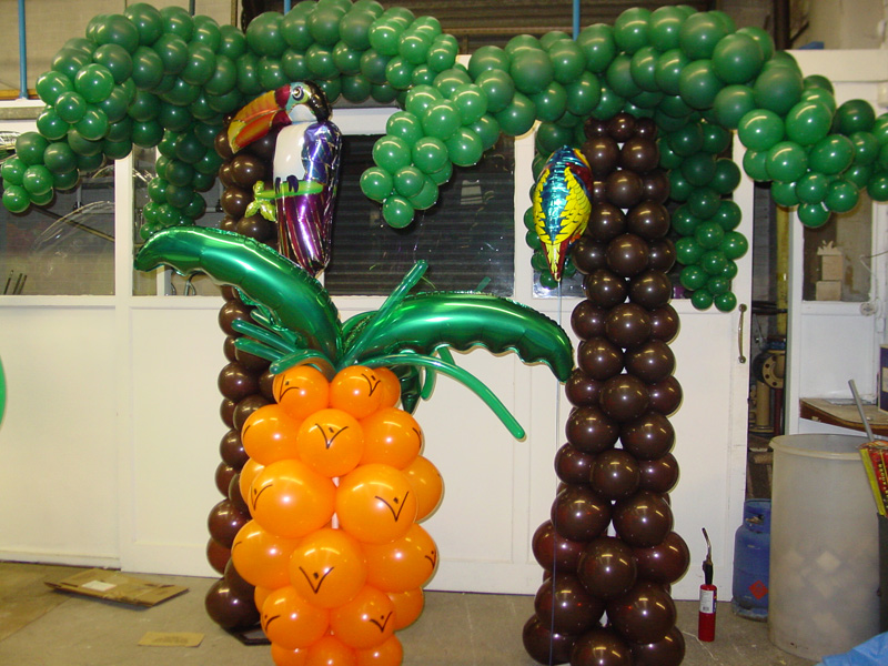 Balloon palm tree centerpiece related keywords balloon palm tree centerpiece long tail